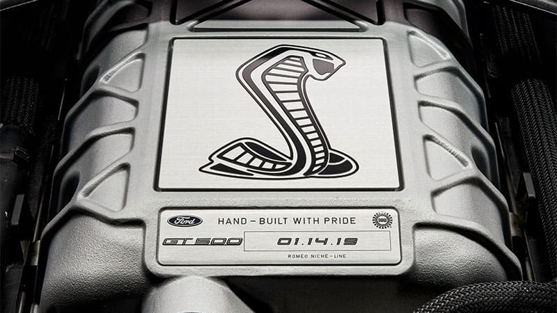 2020 Ford Mustang Shelby Gt500 Supercharger Glimpsed Reveal At