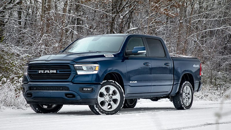 2019 Ram 1500 North Edition is bundled up for winter