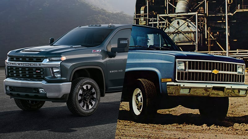 2020 Chevy Silverado Hd Breaks Styling Tradition Autoblog