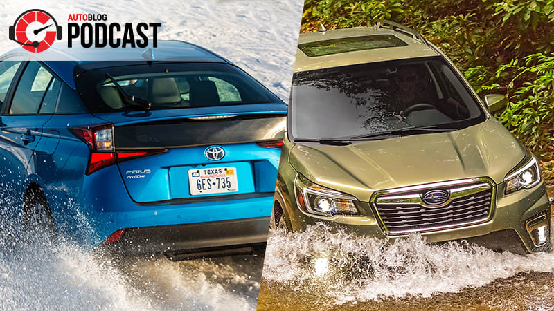 Prius AWD-e, Subaru Forester and car museums | Autoblog Podcast #565