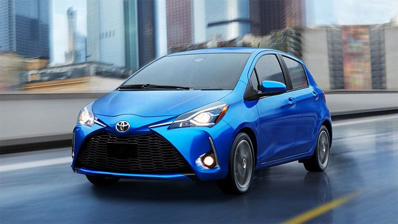 2020 Toyota Yaris Liftback Could Come Back As Rebadged Mazda2 Autoblog