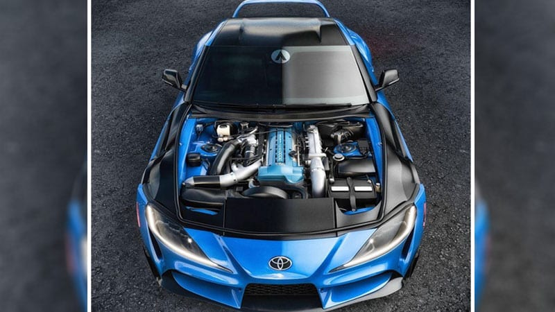 2020 Toyota Supra engine swap already in the works from CX