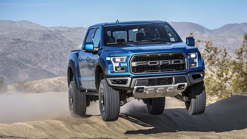 Yes, Ford's new 7.3-liter V8 could fit in the Mustang and the F-150 Raptor