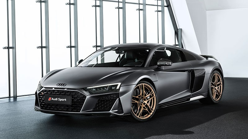 Audi R8 V10 Decennium celebrates 10 years of 10 cylinders