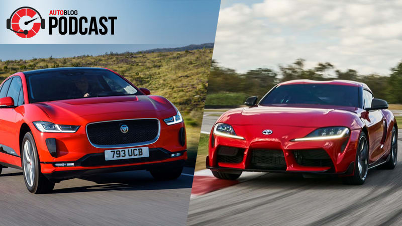 Geneva 2019, Jaguar I-Pace and Toyota Supra | Autoblog Podcast #572