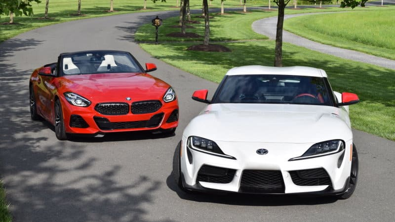 BMW Z4 to get a manual transmission, but what about the Supra?
