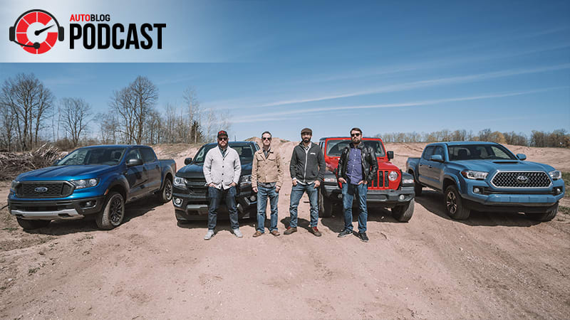 We talk you through our midsize truck testing | Autoblog Podcast #584