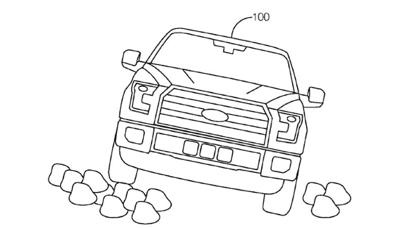 ford granted patent for autonomous off