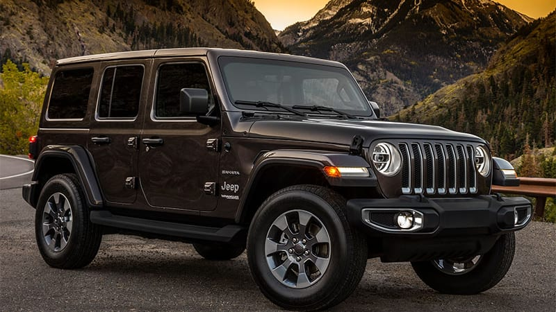 When Jeep Loosed A Trio Of 2018 Wrangler Photos In October Cognoscenti Parried Over Details Like Radio Antenna Placement And Painted Tailgate Hinges