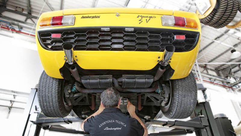 Lamborghini launches Polo Storico heritage division