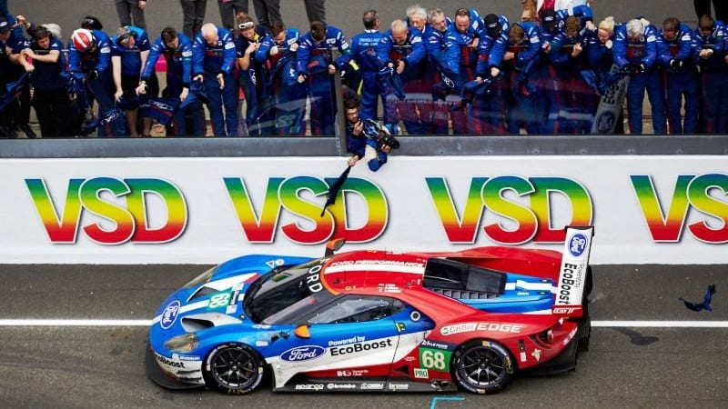 Fifty Years After The Ford Gts  Hours Of Le Mans The New Ford Gt Won Last Years Race And Three Other Gts Placed Third Fourth