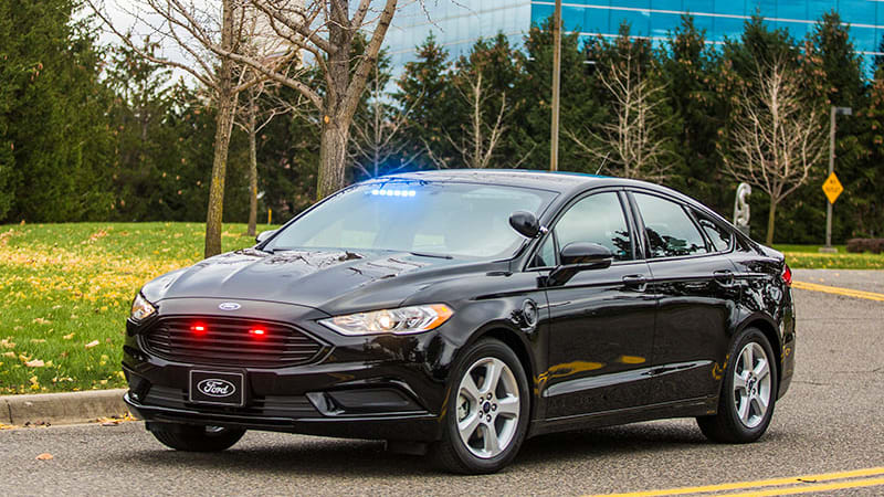 Ford's plug-in hybrid gives police all-electric power for the first time