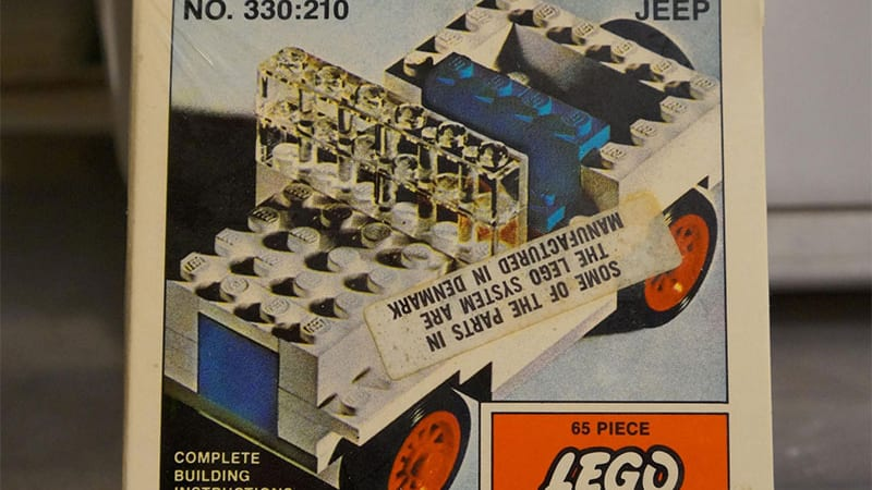 Lego Jeep on eBay sells for more than some used Jeeps