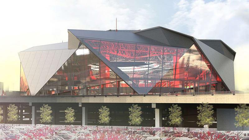 Mercedes claims naming rights for Atlanta Falcons new stadium