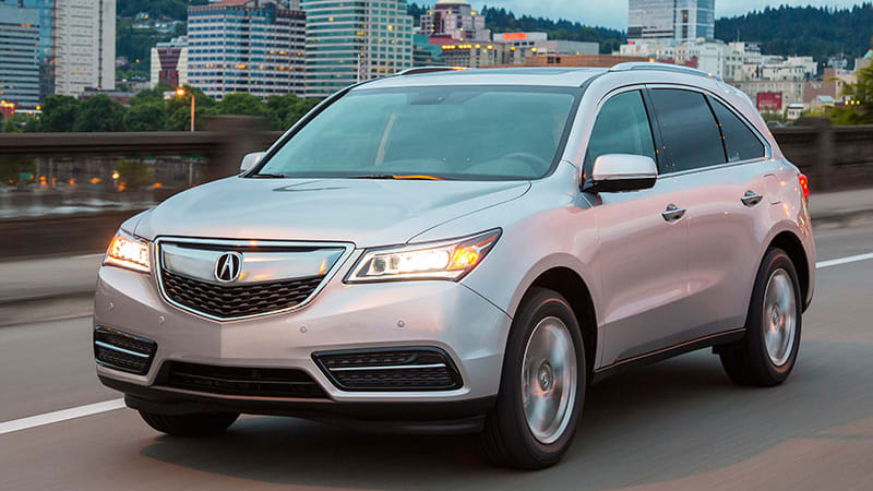 2016 Acura Mdx Gets 9 Sd Transmission Added Refinement