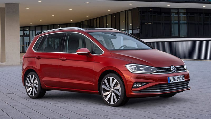 2018 vw golf sportsvan might not come to u s but its technology could autoblog. Black Bedroom Furniture Sets. Home Design Ideas