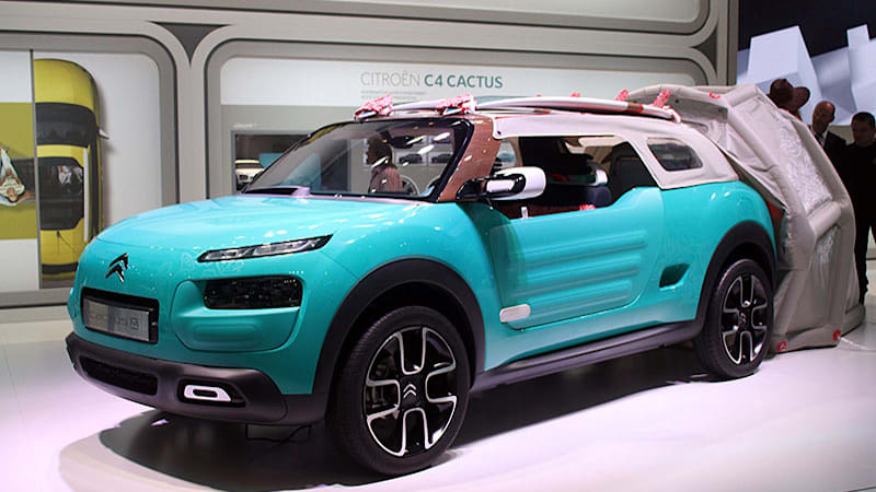 citroen cactus m is ready for your beach vacation w video autoblog. Black Bedroom Furniture Sets. Home Design Ideas