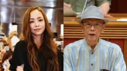 安室奈美恵さんが追悼コメント。翁長雄志知事は