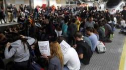 Dos detenidos, cortes de autopistas y carreteras en la huelga general en Cataluña contra el juicio del