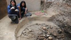 Encuentran restos de más de 2 mil años al sur de