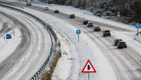 Estas serán las 21 provincias más afectadas por las nevadas de este