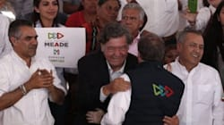 La foto de Meade con el asesino del periodista Héctor Félix sí es
