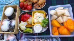 """歌手のhitomi、子ども達と行った""""手抜きピクニック""""のお弁当を公開。"""