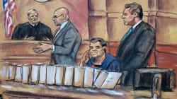 Testigo del juicio del Chapo relata crisis nerviosas y