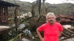 Richard Branson recibe a Irma en su isla y vive para contarlo... y reconstruir las Islas Vírgenes