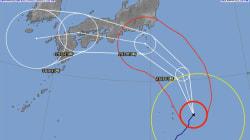 台風12号、東〜西日本で猛烈な雨のおそれ「傘は全く役に立たなくなる」
