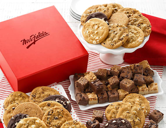 Get Mrs. Fields cookies up to 50 percent off