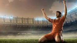 Futbolero que se