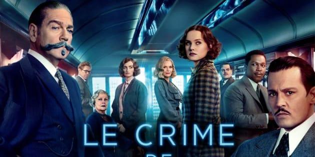 """L'affiche du """"Crime de l'Orient-Express""""."""