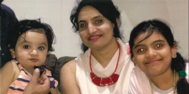 Rupinder Bassi and her two young children went missing for three days.