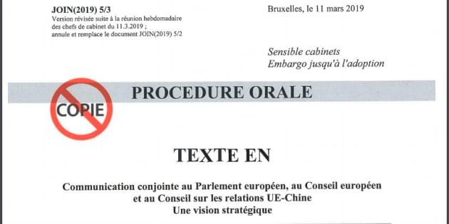 Il rapporto della Commissione europea sulle relazioni tra Ue e Cina