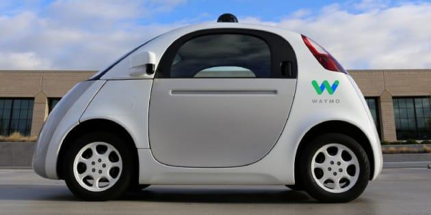 """Les Google Car sont maintenant des """"Waymo""""."""