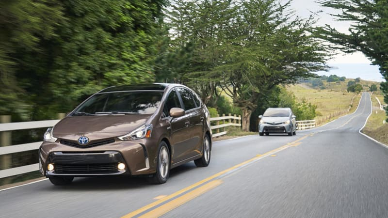 5000 Toyota Prius V Models Recalled Due To Airbag Issue