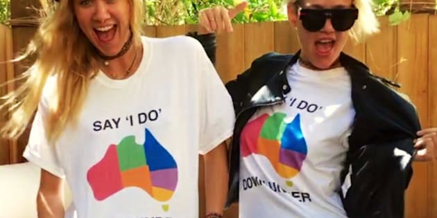 Australian DJ duo Nervo are on board.