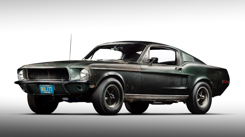 Original Bullitt Mustang Found Takes Its Place Alongside