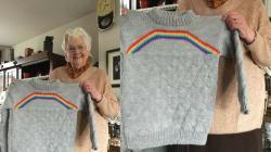 Esta vovó descobriu que sua neta é bissexual. E deu um presente único a