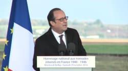 Hollande reconnaît la responsabilité de la France dans l'internement des