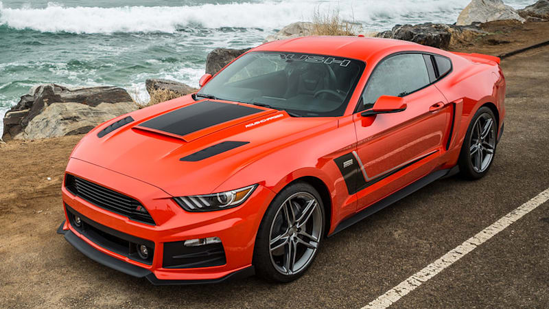 2016 Mustang Hood Scoop >> 2015 Roush Stage 3 Mustang has 670 hp - Autoblog