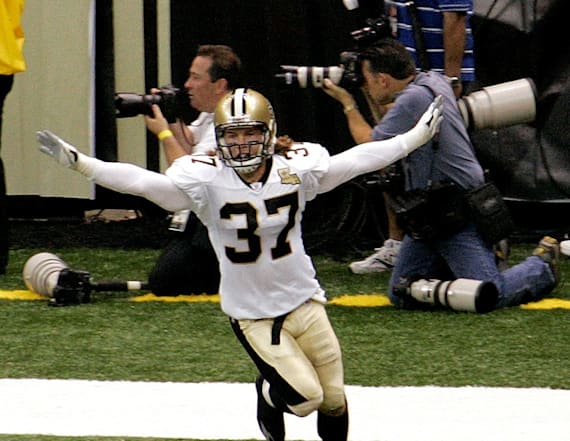 Saints hero gives New Orleans a glimmer of hope