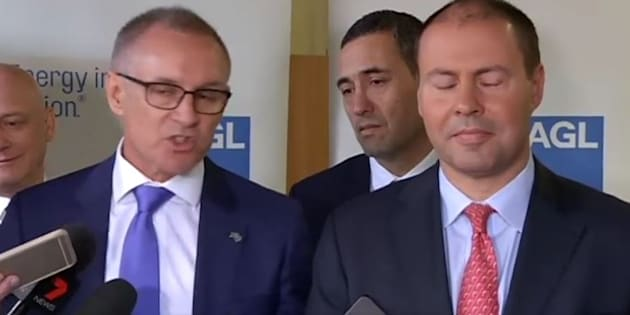 Weatherill and Frydenberg just went AT IT.
