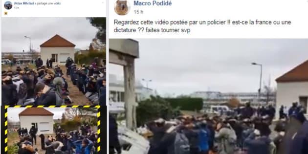 Les gilets jaunes s'emparent de la vidéo des lycéens arrêtés