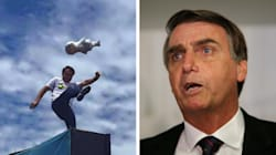 'Minha continência a Sérgio Moro', diz Bolsonaro sobre condenação de