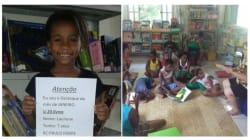 Esta biblioteca comunitária de Nova Iguaçu está formando pequenos grandes