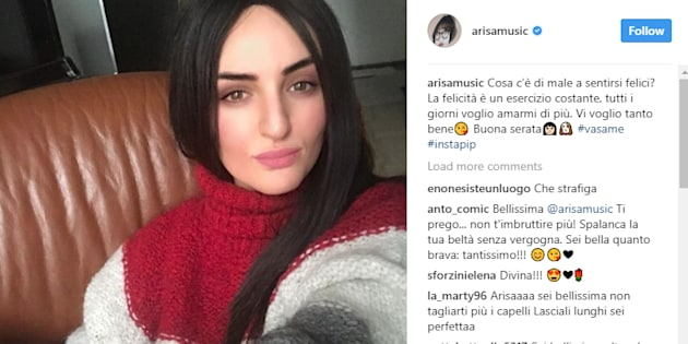 Arisa cambia look e scatena i fan: