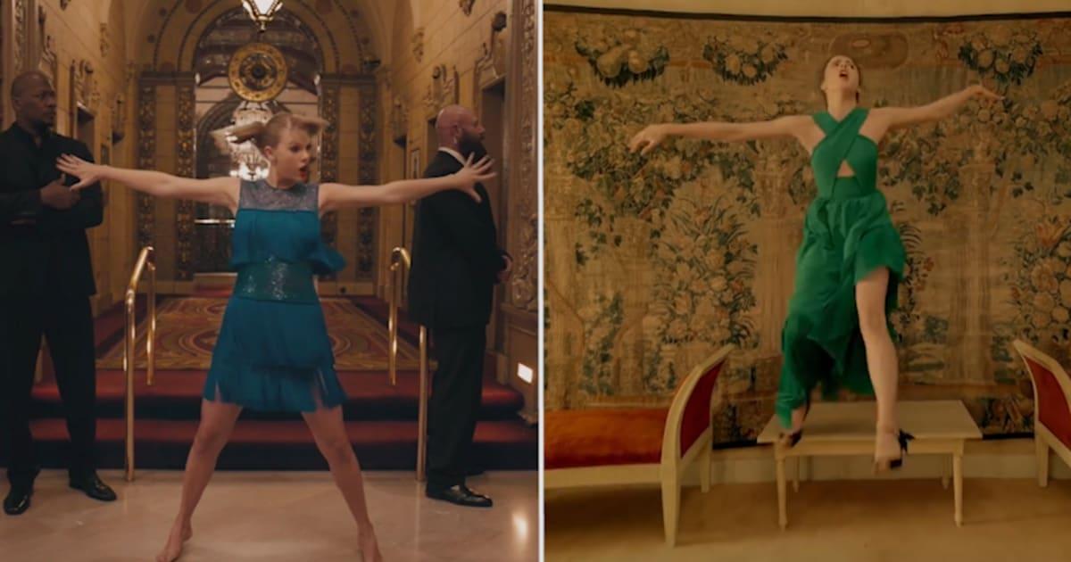Taylor Swift a-t-elle copié la pub Kenzo dans son clip? Faites-vous votre avis