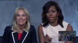 Michelle Obama s'est glissée dans ces séries pour passer un message bien
